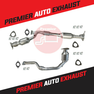 FITS: 2002-03 SATURN VUE CATALYTIC CONVERTER WITH FLEX PIPE SET 3.0L FRONT+REAR