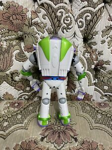 """Disney Hasbro 2001 Toy Story Buzz Lightyear Anti  Gravity Utility Belt """"12 WORKS"""