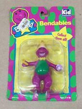 Vintage Barney Bendables Toy 1993 MOC Sealed