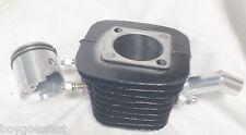 """66cc Motorized ENGINE parts 80cc cylinder piston(high hole) rings black 1 1/16"""""""