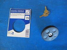 Bouchon de carburant PJ pour: Simca: 1100 et 1100 VF, Talbot: 1301, 1307, 1308,