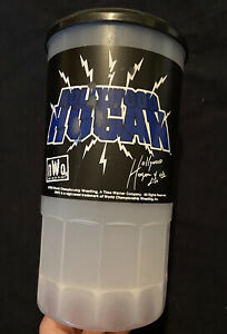 NWO / WCW Wrestling - Hollywood Hogan - Plastic Mug - Vintage - 1998