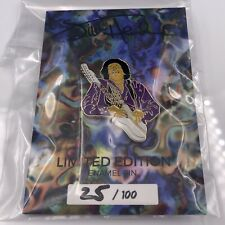 Collectible Jimi Hendrix Pin Collector's Card Rare Numbered Gift Limited Edition