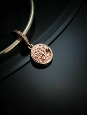 Genuine Rose Gold PANDORA FAMILY ROOTS Dangle Charm ALE MET 781988
