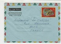 Ghana Togo Air mail to France Stamps Cover ref R 16294