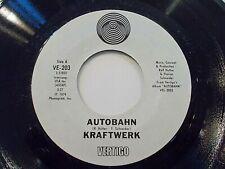 Kraftwerk Autobahn / Morganspaziergang 45 1974 Vertigo Electronic Vinyl Record