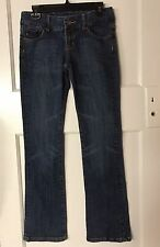 Never WORN EUC! 7 For All Mankind Boot cut Jeans Sz 27 Inseam 32 Boot cut