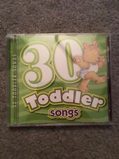 30 Toddler Songs CD