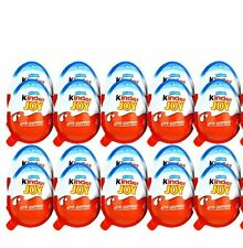 6 X Kinder JOY Surprise Eggs for BOY,Chocolate Toy Inside,Kids Easter Eggs Gift