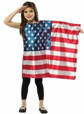 Child USA Flag Dress Halloween Costume