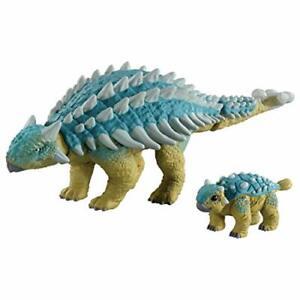 Ania Jurassic World Ankylosaurus & Bumpy Toyst Soft Vinyl, Size 7 x 14 x ...