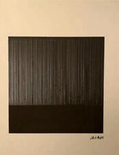 Pierre Soulages Print Signée et Numérotée /150