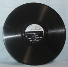 Mari Jones 78 RPM ~ Recorded in Hollywood 409 ~Drifting Blues & There Is No.~ NM
