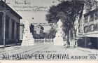 1905 North Gate All Halloween Carnival Albany NY post card