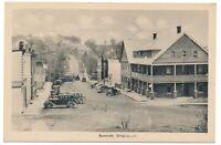 Bridge Street Bancroft Ontario Hastings County ON 1930s Streetview PECO Postcard