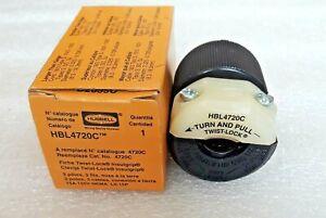 HUBBELL HBL4720C L5-15P PLUG TWIST-LOCK 15A 125V NEW