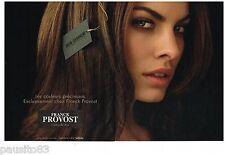 PUBLICITE ADVERTISING 105  2006  FRANCK PROVOST coiffeur NATALIE PORTMA (2p)