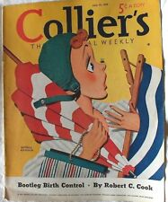 COLLIER'S MAGAZINE July 15 1939 Arthur Crouch cover Ernest Haycox Remarque