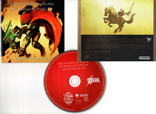 LEGEND OF ZELDA : OCARINA OF TIME 3D (CD BOF/OST) 2011