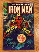 Iron Man #1 Silver age Key 1st Issue