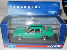 Corgi Vanguards - FORD GRANADA - 2.5 V6 L MODENA GREEN VA05210 Mint/Boxed