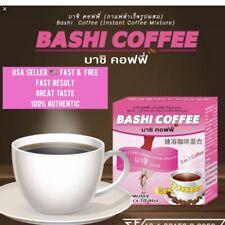 1BOX BASHI SLIM COFFEE POWDER DRINK INSTANT DIET WEIGHT LOSS FAT bURN.USA SELLER