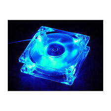 Logisys LT400BL 80mm x 80mm x 25mm 4 LED BLUE FAN