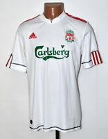 LIVERPOOL ENGLAND 2009/2010 THIRD FOOTBALL SHIRT JERSEY ADIDAS SIZE XL ADULT