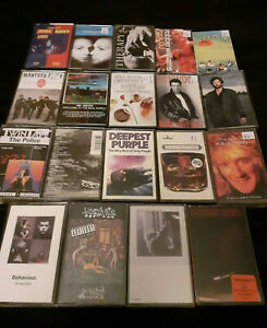 Music Cassette Tapes Job Lot x 19
