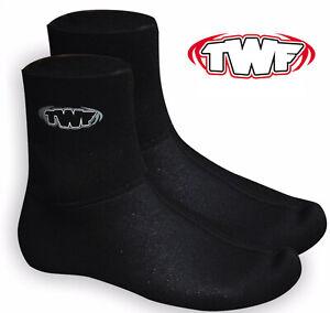 TWF WETSUIT SOCKS SOX 3MM NEOPRENE ADULT KIDS AQUA SOCK WATER SEA SHOES BOOTS