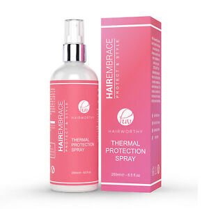 Hairworthy Hairembrace Heat Protection Spray for Thermal Styling