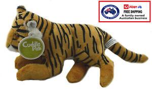 1 X PLUSH TIGER 19CM teddy kids gift soft stuffed animal toy lion doll christmas