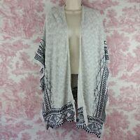 Full Tilt Womens Open Front Kimono Cardigan Sweater Size Medium