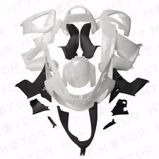 Fairing Fit for HONDA CBR 929RR CBR900RR 2000 2001 Unpainted White Plastic Kit