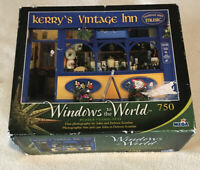 """750-Piece Puzzle """"Kerry's Vintage Inn"""" 18.9375""""x26.75"""" No 50580 Used"""