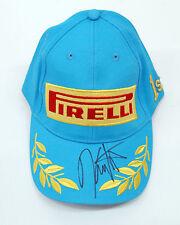 KING Kenny ROBERTS SIGNED Pirelli Baseball Cap AFTAL COA Autograph
