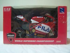 NewRay Ducati Corse World Superbike Championship 1:12 Scale
