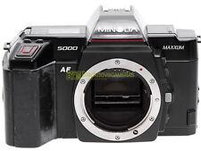 Minolta AF 5000 reflex autofocus a pellicola, perfettamente funzionante.