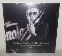 2 LP GRAHAM PARKER - LIVE AT ROCKPALAST 1978 + 1980 VOL 2 - NUOVO NEW