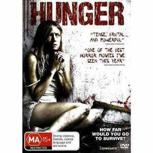 Hunger DVD 2009 Horror Movie Rare - Dark Psychological Thriller SAW esque