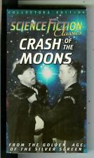 CLASH OF THE MOONS, cult sci-fi movie on VHS Cassette tape in box
