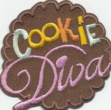 Girl COOKIE DIVA Seller Daisy Brownie Fun Patches Crests Badges SCOUT GUIDE