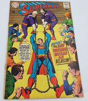 Superman #206 Silver Age DC Comics Jim Shooter VF