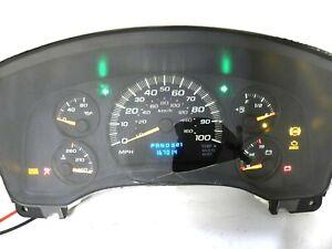 Instrument Speedometer Gauge IPC Cluster Panel 167K for 04-07 Express Savana Van