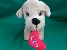 Best Made Toys Red Love Valentine Heart Light Lt Brown Wiener Dog Daschund Plush
