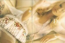 ▬► PUBLICITE ADVERTISING AD DIOR 2 pages 2005 sac vêtement femme mode