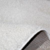 Tapis Moderne Couchage Court Mou Blanc Salon Tapis chevet 80x150 cm SARANI