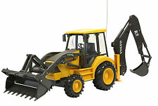 1:18 RC Construction Wheel Loader Excavator Truck Remote Control Yellow New