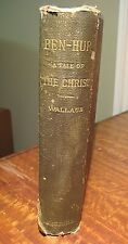 Ben-Hur, A Tale of the Christ by Lew Wallace 1880 1st Edition Harper & Bros.