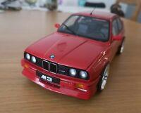 AUTOART 1:18 BMW M3 Sport Evolution Cecotto Edition E30 Red Tuning